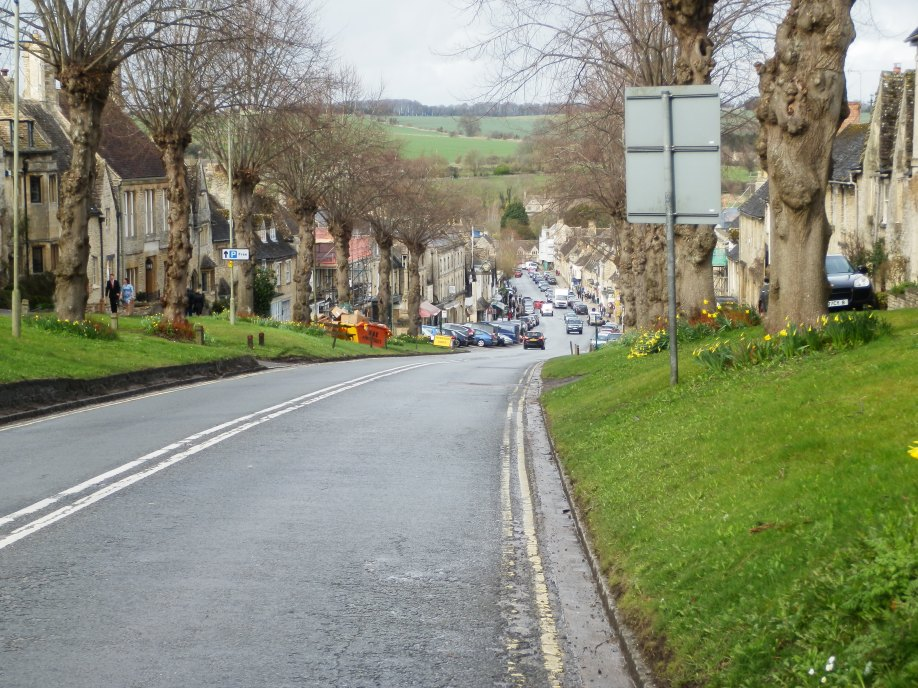 Arriving in Burford at the end of Sunday's Walk