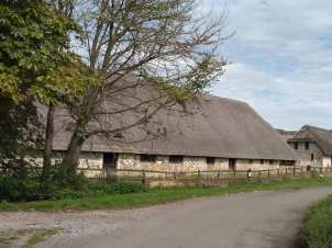 15th Century Barn - Hensting Farm
