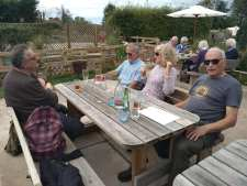 Lunch at The Ship Owslebury